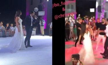 Τανιμανίδης-Μπόμπα: Το τραγούδι της νύφης στον γαμπρό με τη «βοήθεια» του… BO!