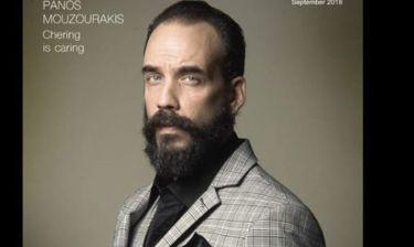 Πάνος Μουζουράκης: Το πρώτο του διεθνές εξώφυλλο μετά το Mamma Mia!