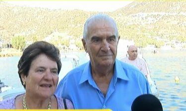 Συγκινήθηκαν ο παππούς και η γιαγιά της Χριστίνας Μπόμπα όταν την είδαν νυφούλα