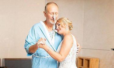 Συγκινητικό βίντεο: Νύφη χορεύει με τον άρρωστο πατέρα της στο νοσοκομείο