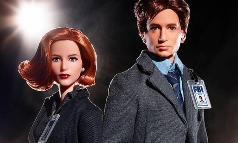 Barbie & Χ-Files: 25 χρόνια μυστηρίου με τις κούκλες των Μόλντερ & Σκάλι