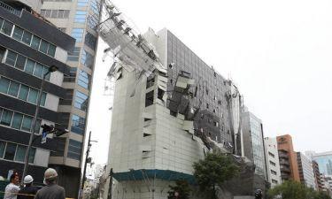 Ιαπωνία: Τουλάχιστον έξι νεκροί από το σφοδρότατο πέρασμα του τυφώνα Τζέμπι (pics&vid)