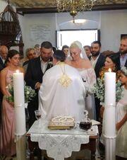 Ελισάβετ Μουτάφη: Οι νέες φωτό από τον γάμο της και τα μηνύματα με τον Χατζηνικολάου στο instagram