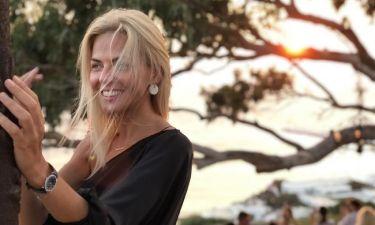 Χριστίνα Κοντοβά: Η φωτογραφία και το μήνυμα όλο νόημα