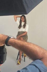 Σταματίνα Τσιμτσιλή: Στα backstage της επίσημης φωτογράφισης για τη νέα σεζόν