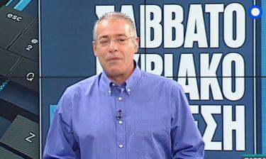 Νίκος Μάνεσης: Έκανε πρεμιέρα και ανακοίνωσε τις αλλαγές της εκπομπής του