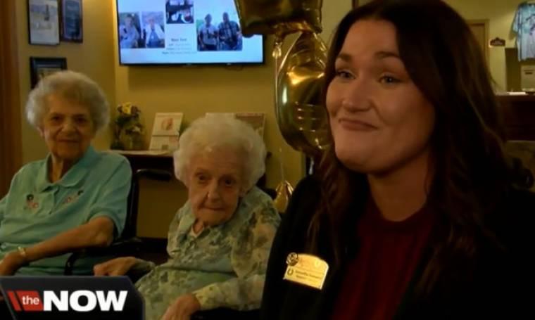 Αυτές οι δυο γυναίκες γιόρτασαν τα 100 τους χρόνια!