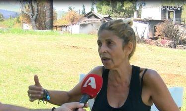 Νίκη Βίσση: Περιγράφει τις δραματικές στιγμές της φωτιάς στο Μάτι: «Ζω μια απώλεια, θρηνώ…»