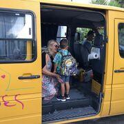 Φαίη Σκορδά: Η φωτό στο σχολικό με τον γιους της