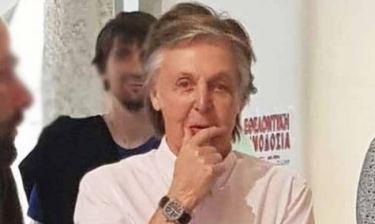 Paul McCartney: Το «σκαθάρι» έκανε διακοπές στην Ελλάδα