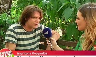 Δημήτρης Κοργιαλάς: Ο γιος του και η πρόταση γάμου στην Φωτεινή Ψυχίδου
