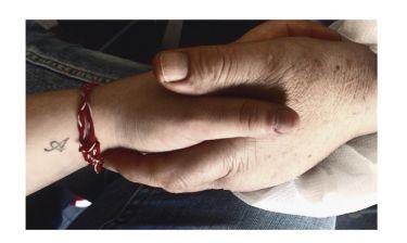 Ραγίζει καρδιές το μήνυμα της ηθοποιού: «1.094 μέρες που δεν έχω ακουμπήσει αυτό το χέρι...»