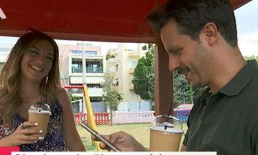 Μακαλιάς: Έψαξε το κινητό της Λασκαράκη on air- Δείτε την αντίδραση της ηθοποιού