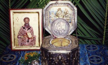 Το θαύμα του Αγίου Βησσαρίωνα που απάλλαξε τη Λευκάδα από πανώλη..