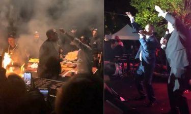 Γαμήλια δεξίωση Ρέμου – Μπόσνιακ: Ο Νουσρέτ έψηνε και και ο Eros Ramazzotti τραγουδούσε