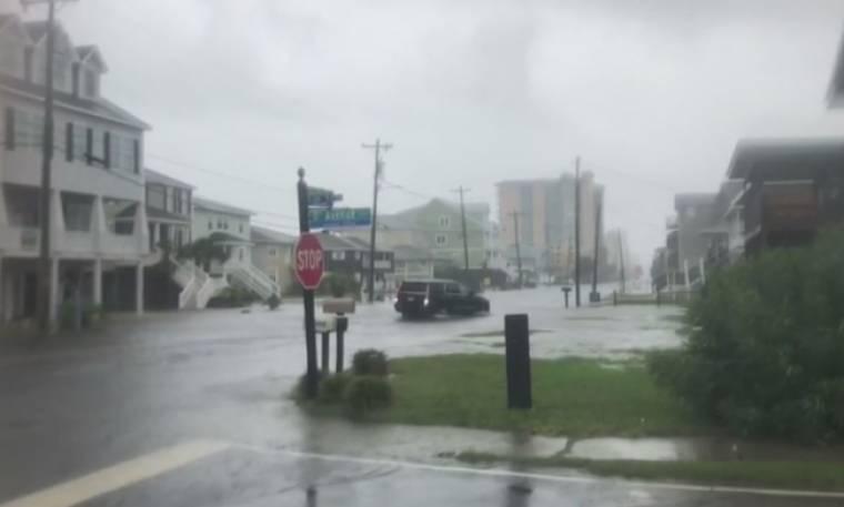 Καταιγίδα «σάρωσε» την Αμερικανική ακτή