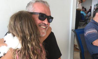 Γιώργος Λύρας: Η φωτογραφία με την κόρη του Ηλέκτρα, μετά από καιρό