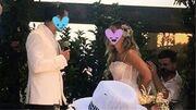 H Νατάσα Μποφίλιου νύφη - Αυτή είναι η μία και μοναδική φωτογραφία από τον γάμο της