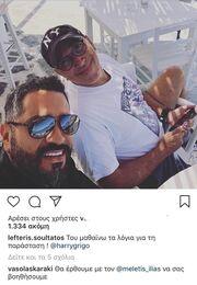 Βάσω Λασκαράκη - Λευτέρης Σουλτάτος: Τα μηνύματα που αντάλλαξαν στο instagram