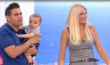 Δημήτρης Ουγγαρέζος: Τα τρυφερά λόγια on air για τον μεγάλο γιο της Σκορδά