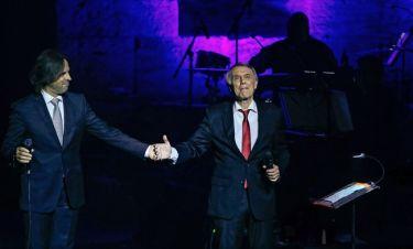 Ο Salvatore Adamo και ο Βασίλης Λέκκας σε μια μοναδική συναυλία