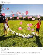 Αναπάντεχο: Ανακοίνωσε την τρίτη εγκυμοσύνη της αλλά και το φύλο του μωρού που περιμένει!