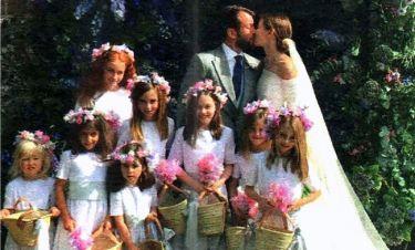 Δεν προλαβαίνουμε τα μυστήρια! Νέες φωτογραφίες από τον λαμπερό γάμο του διεθνούς Jet Set!