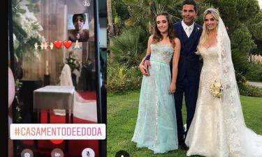 Ο θετός γιος του Αλβάρο παρακολούθησε τον γάμο μέσω Face time – Το συγκινητικό του μήνυμα (φωτο)