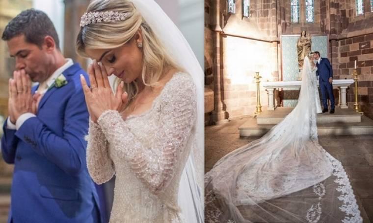 Ντενίζ Σεβέρο: Οι νέες φωτό από τον γάμο της με τον Αλβάρο και το «τρυφερό» της μήνυμα