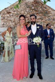 Μαντώ Γαστεράτου - Νίκος Ισηγόνης: Το φωτογραφικό άλμπουμ του γάμου τους