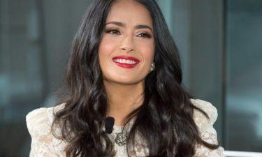Εσύ θα άφηνες τη 12χρονη κόρη σου να σου κόψει τα μαλλιά; Η Salma Hayek το έκανε
