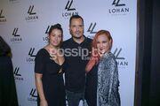 Η συνάντηση της Lohan με Έλληνες celebrities