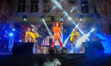 Η Ελένη Φουρέιρα «χόρεψε» τη Λάρισα στο street party του ΙΕΚ ΟΜΗΡΟΣ