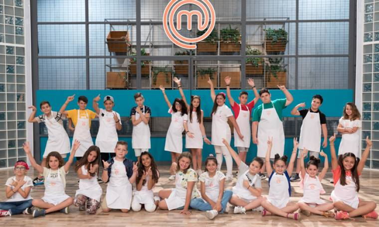 MasterChef Junior: Αυτοί είναι οι 22 μικροί μάγειρες!