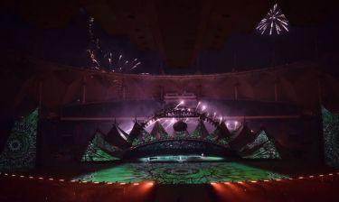 900.000 πυροτεχνήματα, 300 drones & Cirque du Soleil: φαντασμογορική εκεχειρία στη Σαουδική Αραβία