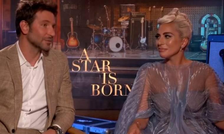 "Cooper - Lady Gaga: Όλα όσα αποκάλυψαν για τη συνεργασία τους στην ταινία ""A Star is Born""!"