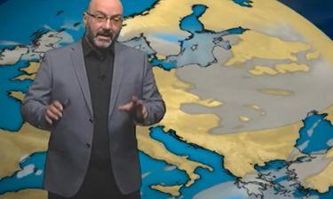 Καιρός: Η τελευταία ενημέρωση του Σάκη Αρναούτογλου για τον Μεσογειακό Κυκλώνα (video)