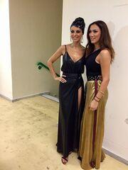 Η Βασιλική Νταντά στο gala του «My style rocks»- Η συνάντηση με την Μαγγίρα στα backstage