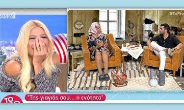 Το πρωινό: Θα κλαίτε από τα γέλια με τον διάλογο Ουγγαρέζου-Ιωάννου: «Βλέπω τα ξυρίζεις…»!