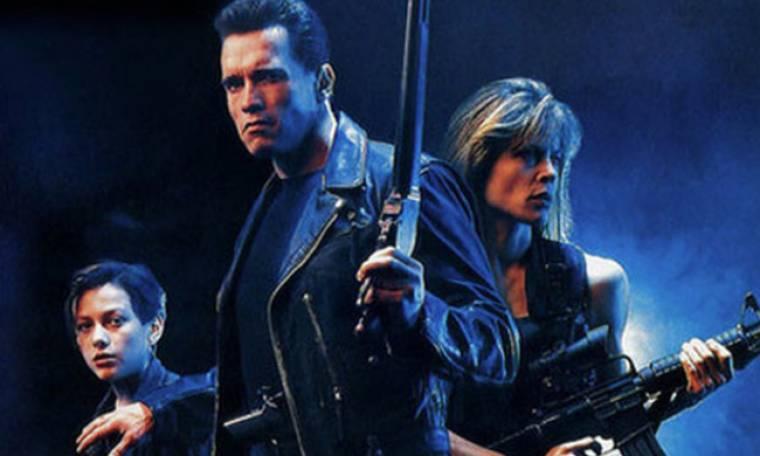 O «Εξολοθρευτής» Αrnold Schwarzenegger ποζάρει μαζί με τη Linda Hamilton μετά από 34 χρόνια
