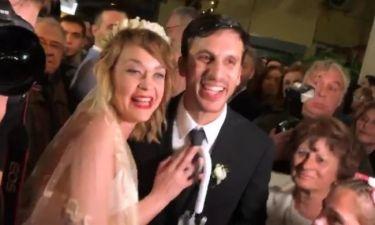 Παντρεύτηκε η Λένα Παπαληγούρα! - Οι πρώτες εικόνες του γάμου της