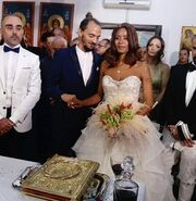 Σάγια – Θοδωρής Παπαντώνης: Οι πρώτες εικόνες από τον γάμο τους στη Λευκάδα