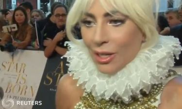 H Lady Gaga θέλει να πάρει Όσκαρ και δείτε τι δηλώνει στην κάμερα