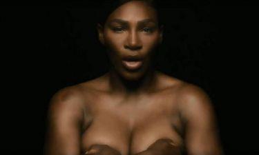 Σερένα Γουίλιαμς: Tραγουδάει γυμνή κατά του καρκίνου του μαστού (vid)