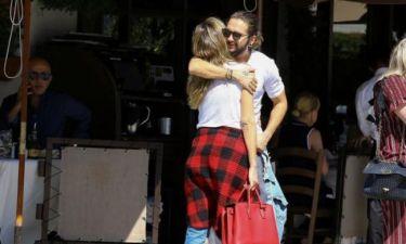 PDA alert: Η Heidi Klum σε τρυφερές στιγμές με τον σύντροφό της
