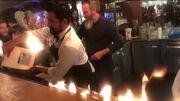 Κόντεψαν να καούν ζωντανοί ένας Έλληνας και άλλοι τρεις τουρίστες στο εστιατόριο του Νουσρέτ