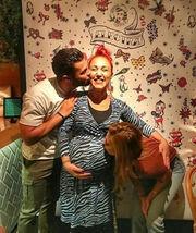 To απίθανο baby shower που ετοίμασαν η Ευρυδίκη Βαλαβάνη και οι υπόλοιπες φίλες της πριν τη γέννα!