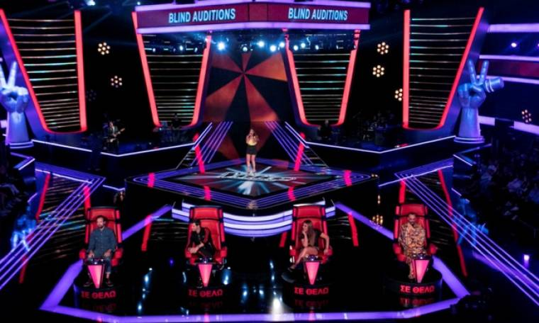 The Voice: Απίστευτα νούμερα τηλεθέασης η πρώτη εκπομπή