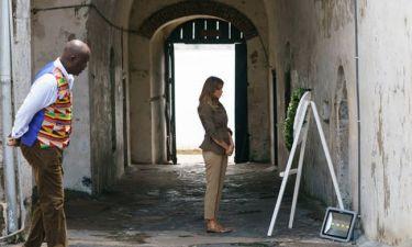Melania Trump: Η ξενάγηση στο φρούριο των σκλάβων του Κέιπ Κοστ