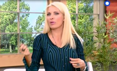 Ελένη: Εισέβαλε στο πλατό και έκανε την απίστευτη παρατήρηση σε συνεργάτη της